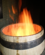 Toasting giving the fragancies of vanilla or sweet bread to the barrel TONNELLERIE SIRUGUE
