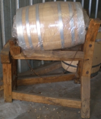 Barrel or barrique in French oak Tonnellerie SIRUGUE